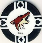 Arizona Coyotes NHL Hockey Poker Chips Card Guards Various Colours $1.0 CAD on eBay