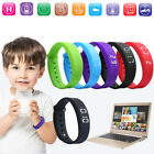 Kids Activity Tracker Watch Fitness Wrist Band Calorie Step Counter Pedometer