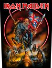 Iron Maiden Book of Souls Trooper Killers Eddie Piece Of Mind Backpatch 36x29cm