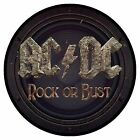 AC/DC High Voltage Angus Back In Black For Those About To Rock : Sew On Patch