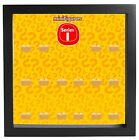 Lego Minifigures Display Case Picture Frame for Series 1 mini figures