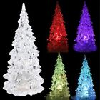 Kids Toys Christmas Tree Shape Sleep Lamp Colorful Flashing Light-up For Party