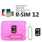 NEW 2018 RSIM 12+R-SIM Nano Unlock Card For iPhoneX/8/7/6/6S 4G LTE iOS10/11 Lot