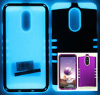 For LG Stylo 4 2018 - KoolKase Hybrid Silicone Cover Case - Purple (R)