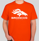 DENVER BRONCOS SHIRT LOGO BRAND NEW T-SHIRT FOOTBALL S-2XL