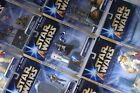 STAR WARS SAGA 2004 (GOLD STRIPE) DELUXE FIGURE PACKS - ALL MOC-SEE PHOTOS!