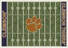 Clemson University Tigers Football Field Rug
