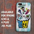 Teen Titans Go Robin Cyborg Starfire Pictorial for iPhone Case Cover