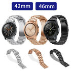 Replacement Stainless Steel Watch Band Strap For Samsung Galaxy Watch 42mm 46mm image