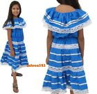 Mexican Dress Escaramuza for Girls