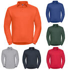 RUSSELL HEAVY DUTY COLLAR SWEATSHIRT JUMPER SWEATER XS-4XL 012M