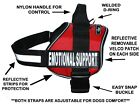 Doggie Stylz EMOTIONAL SUPPORT Dog Harness Vest Nylon 2 removable patches USA