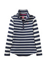 Joules  Z Fairdale Ladies Sweatshirt   Colour FRENCH NAVY STRIPE