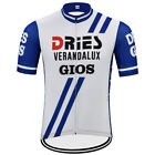 DRIES VERANDALUX GIOS RETRO Cycling BIKE Jersey Shirt Tricot Maillot