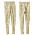 Women Ladies Slim Sequin Tight Leggings Stretch Paillette Pencil Pants Jeggings