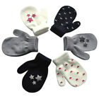 Внешний вид - Cute Boy Girl Winter Gloves Baby Warm Knit Full Finger Heart Gloves 0-12 Months