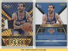 2014-15 Panini Select Sparks Jerseys Gold Prizm/10 #20 Jose Calderon Card <br/> Fulfilled by COMC - World's largest consignment service