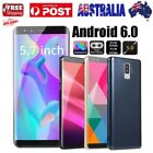 5.7 Inch Dual Hd Camera Smartphone Android 6.0 Wifi Gps 2g Call Mobile Phone Au