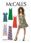 M7592 McCall's Sewing Pattern Misses 4-26 EASY Very Loose Fitting Pullover Dress