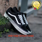 VANS Old Skool Classic Skate Shoes Men Women Unisex Suede Canvas Black