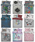 Disney Characters Batman Harry Potter Luxury Duvet Cover Reversible Bedding Sets
