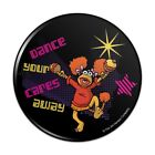 Dance Your Cares Aware Fraggle Rock Red Compact Pocket Purse Hand Makeup Mirror
