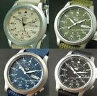 SEIKO 5 MILITARY AUTOMATIC, Day Date, SNK803K2 SNK805K2 SNK807K2 SNK809K2, NYLON image