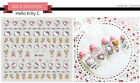 3D Nail Art Stickers Water Decals Cartoon Hello Kitty Set