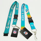 NFL Miami Dolphins Breakaway Lanyard Keychain Team Color on eBay