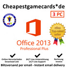 MS Office 2010/2013/2016/2019/365 (PRO PLUS/H&S/H&B) 1-5 PC Produktkey per email
