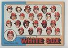 1975 Topps Photo Checklist Sheets Cut Singles Chicago White Sox Team ( Manager) on Ebay