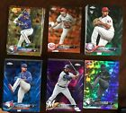 2018 Topps Chrome Orange,Gold,Green,Blue,Purple,Negative Refractors You Pick