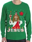 Ugly Christmas Sweater Go Jesus it's Your Birthday Long Sleeve T-Shirt Gift Idea