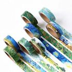1 Box Van Gogh's Color DIY Washi Sticker Decor Roll Paper Masking Adhesive Tape $1.79 USD on eBay