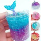 Kyпить Crystal Mermaid Mud Fluffy Slime Putty Scented Stress Relief Kids Party Toy Gift на еВаy.соm