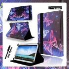 """Folio Stand Leather Cover Case For 7"""" 8"""" 10.1"""" Samsung Galaxy Tab A A6 Tablet"""