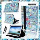 Folio Stand Leather Cover Case For 7