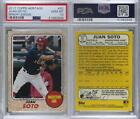 2017 Topps Heritage Minor League Edition #52 Juan Soto PSA 10 GEM MT Rookie Card <br/> Fulfilled by COMC - World&rsquo;s largest consignment service