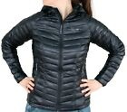 NEW MOUNTAIN HARDWEAR GHOST WHISPERER DOWN HOODED JACKET Womens M Puffy Black