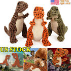 Pet Dog Toys Squeak Molar Chew Toy Training Clean Teeth Dinosaur Shape Products