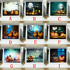 Halloween Backdrops Pumpkin Bat Vinyl Lantern Background Photography Studio W8