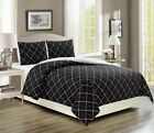 Внешний вид - Englewood Black Reversible Bed in a Bag Set
