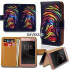 Leather Smart Stand Wallet Case Cover For Sony Xperia Z 1/2/3/4/5 Phones