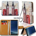 Leather Smart Stand Wallet Case Cover For Various Samsung Galaxy J3 J4 J5 J6