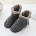 Slipper Boots Women Soft Cozy Memory Foam Midcalf Booties Indoor House Pull on