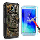 For Samsung Galaxy J3 Orbit Kickstand Belt Clip Case Cover With Screen Protector