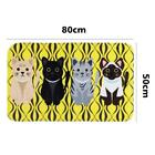Fashion Cute Cartoon Cat No-Slip Mat Carpet for Kitchen Bathroon Hot