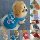 Cute Small Dog Cat Pet Puppy Vest Clothes Spring Autumn T-shirt Apparel Clothes