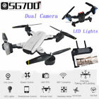 2.4Ghz Quadcopter Drone 360° Hold WiFi 2.0MP Optical Flow Dual Camera US Stock