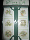 Flower Soft Flower Card Toppers Various Designs Ideal for Card Making  Christmas